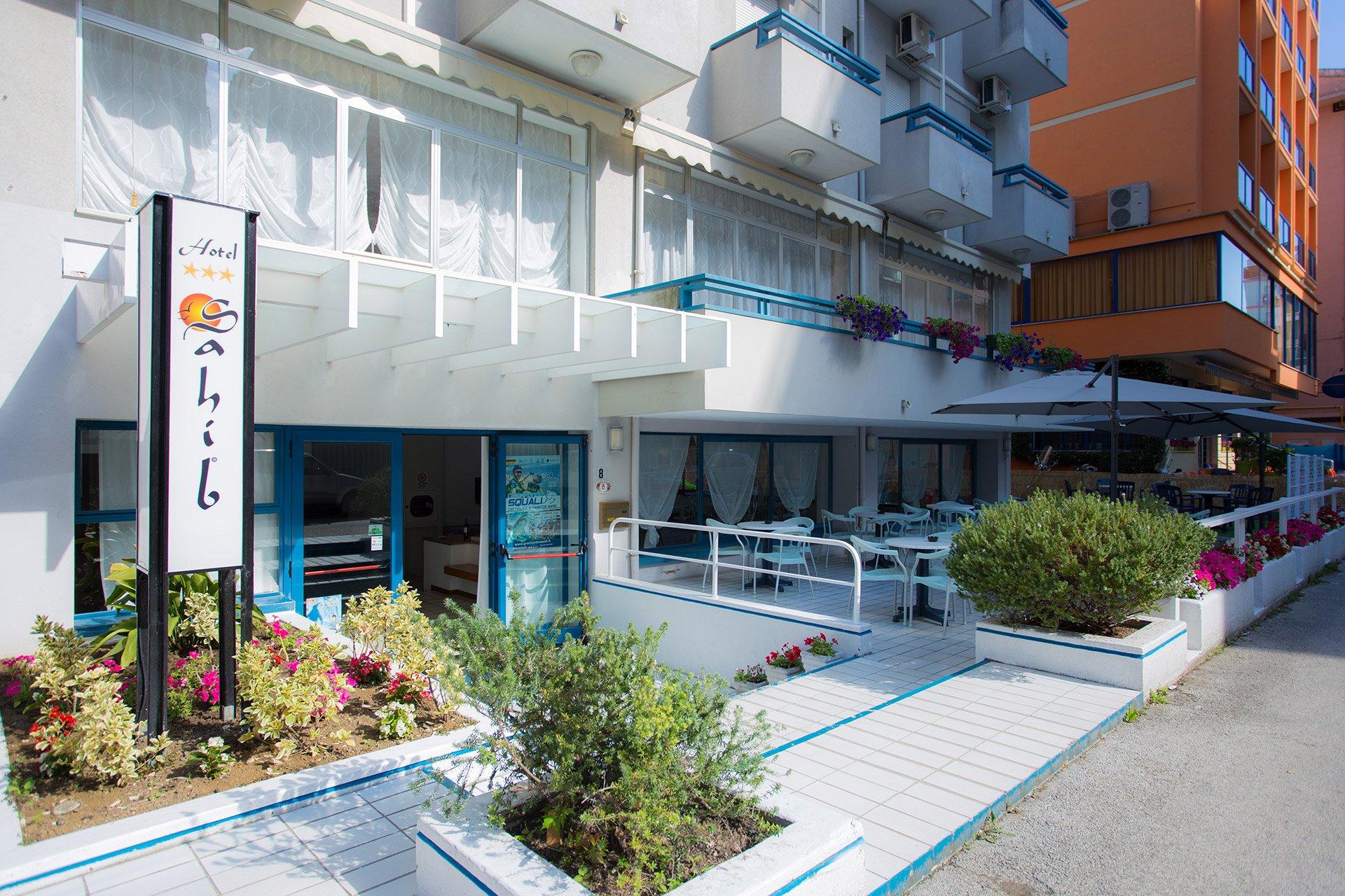 Ingresso Hotel Sahib